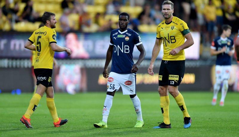 Mustapha Fofana fikk sin eliteseriedebut mot Lillestrøm for ti dager siden.