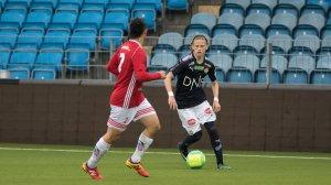 Johannes Solstad Dahlby for Strømsgodset 3 mot Kongsberg IF.