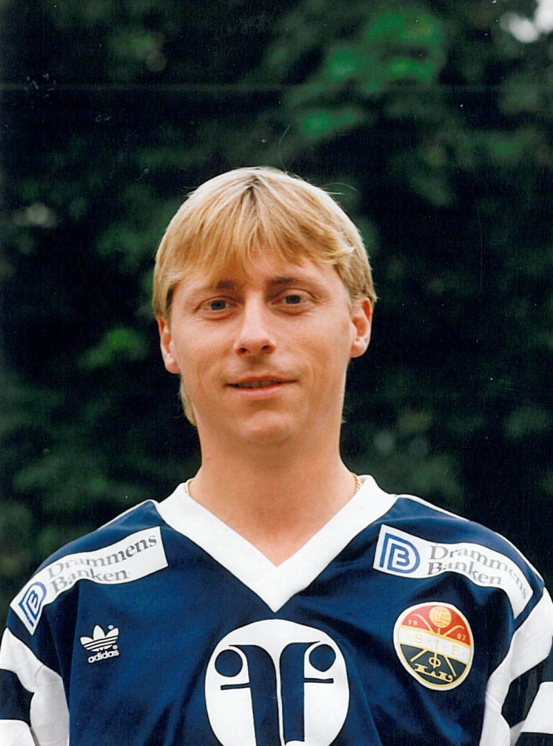Arne avbildet mot slutten av karrieren.