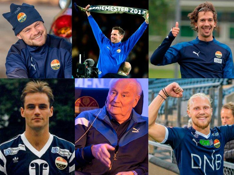 Herman Stengel, Thomas Andre Ødegaard, Gustav Wikheim, Hallvor Storskogen, Steinar Pettersen og Lars Jørgen Salvesen er alle med på Folkeveggen