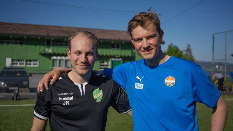 Jørgen Røgeberg og Eirik Fossen