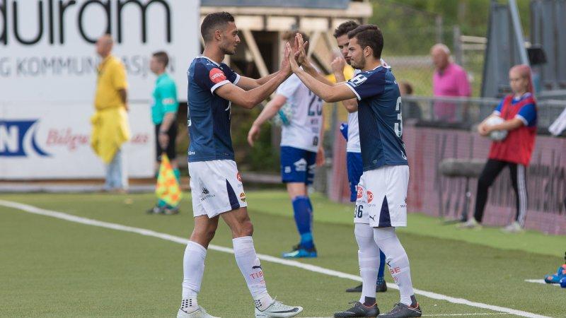 Debuten i Eliteserien mot Ranheim.
