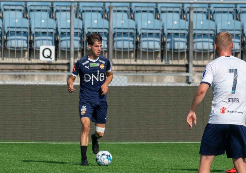 Kreshnik spilte internkamp for A-laget i sommer.