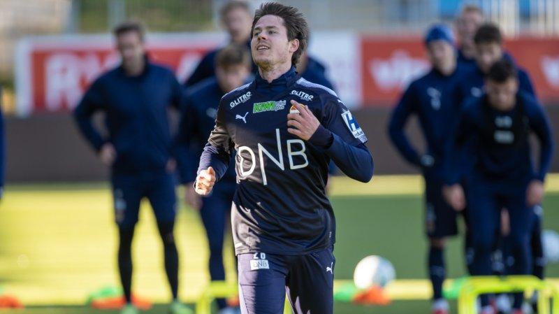 Lars Vilsvik i strålende humør på torsdagens økt.