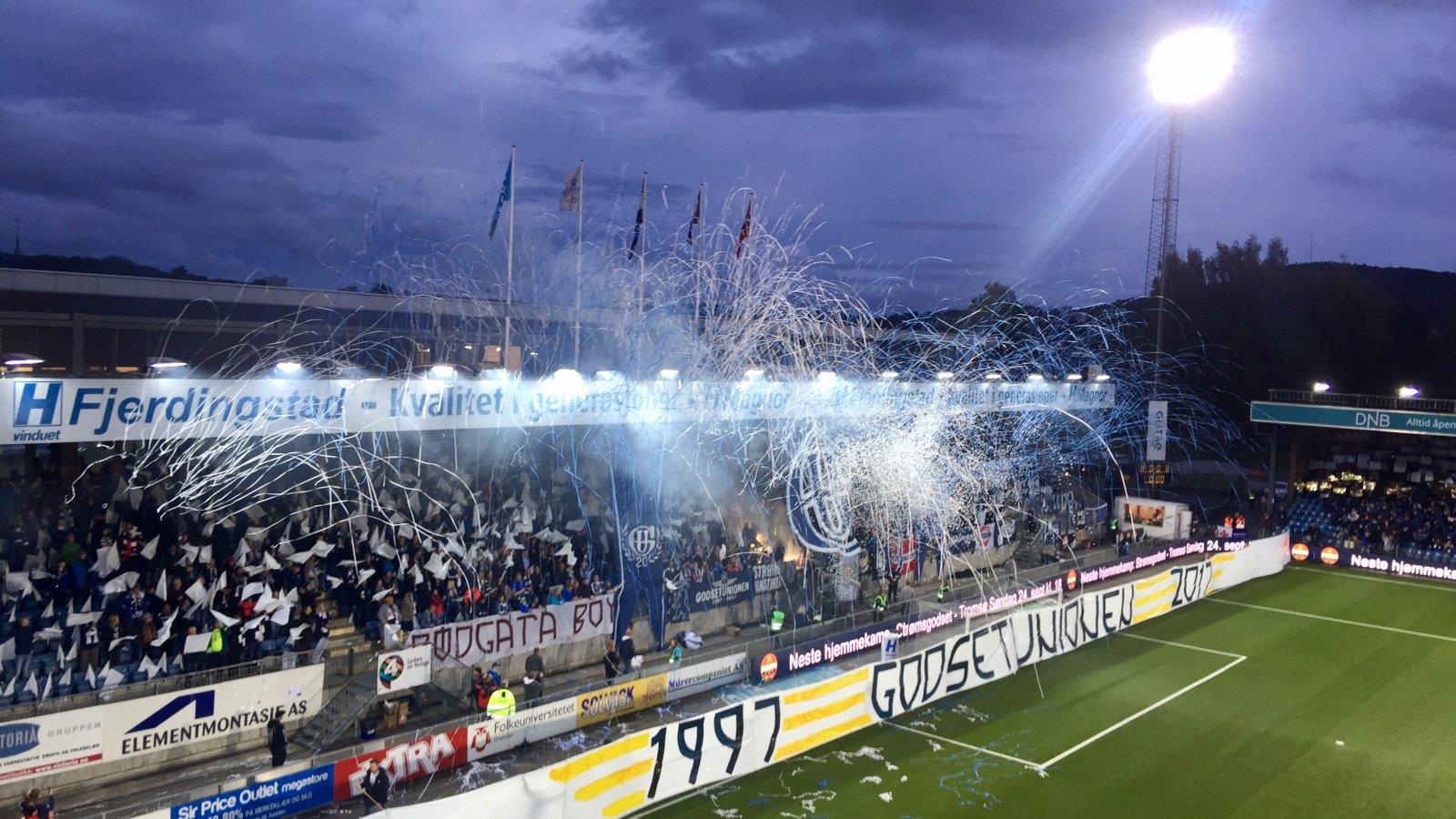 Marienlyst stadion. GodsetUnionen