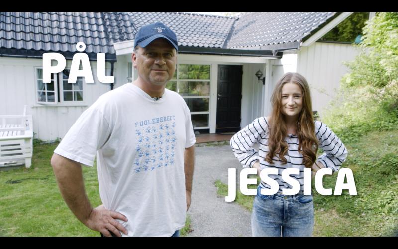 Pål og Jessica Dahlby