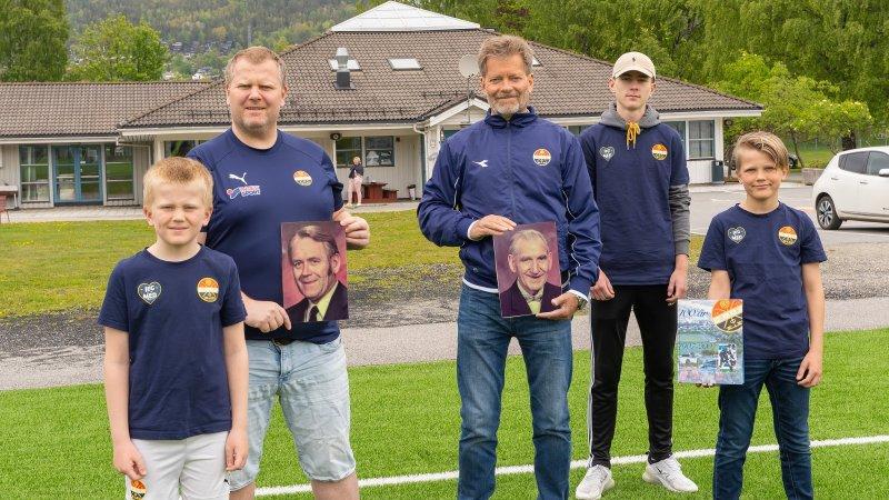 I mai fortalte vi historien om fem generasjoner Bjørnsen fra Rødgata som er sammen på Folkeveggen. Nå ser vi frem til å lese flere historier om ekte kjærlighet.