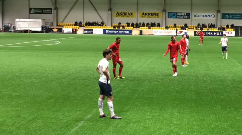Hasan Hüseyin Duman i aksjon for Norge G19 mot Kongsvinger.