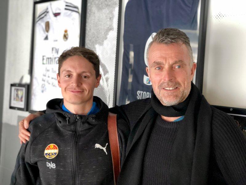 Torstein Dalen-Lorentsen pratet om fysisk trening i podcasten nylig.