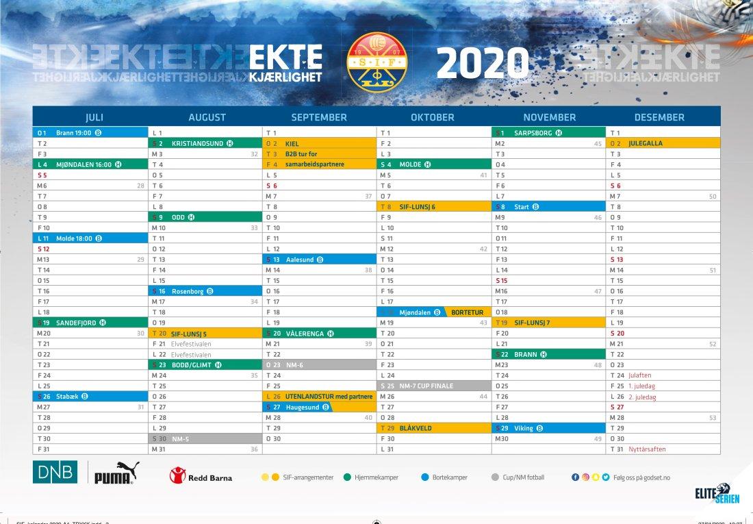Kalender 2020 del 2