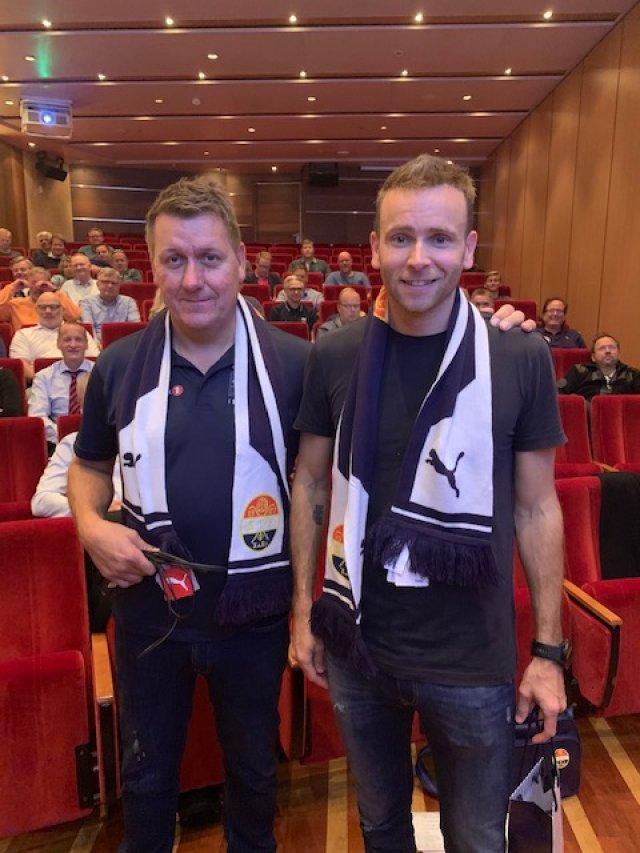 Pål Breen og Simen Gjerstad