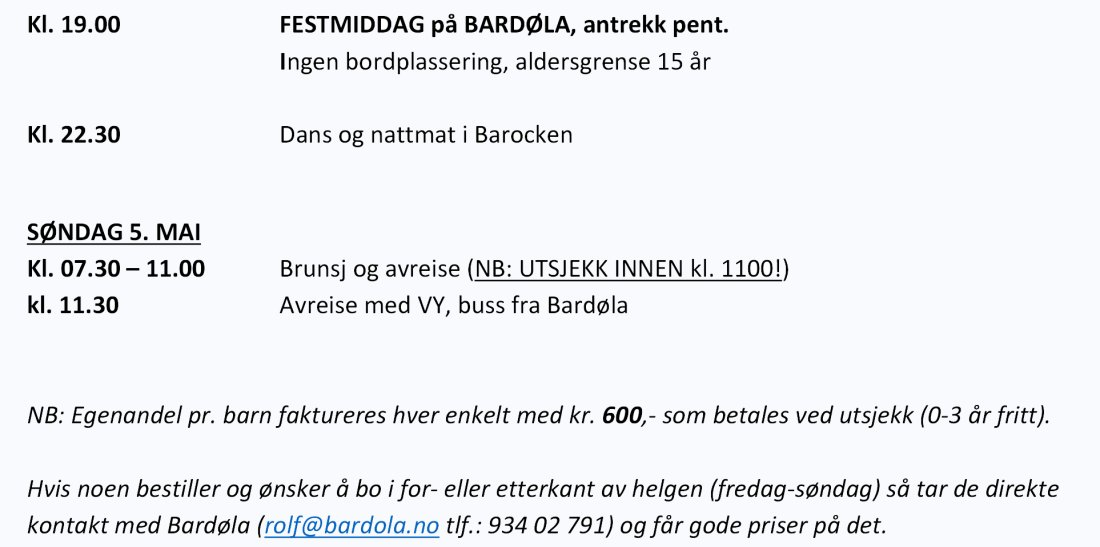Ny program del 2 bardøla