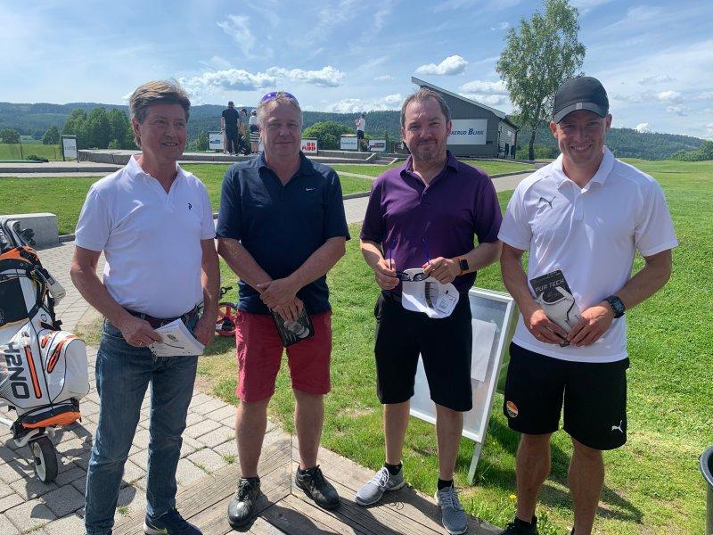 Trond Gustavsen, Bjørn Lilleås, Terje Nilsen og Rolf Degn Jensen