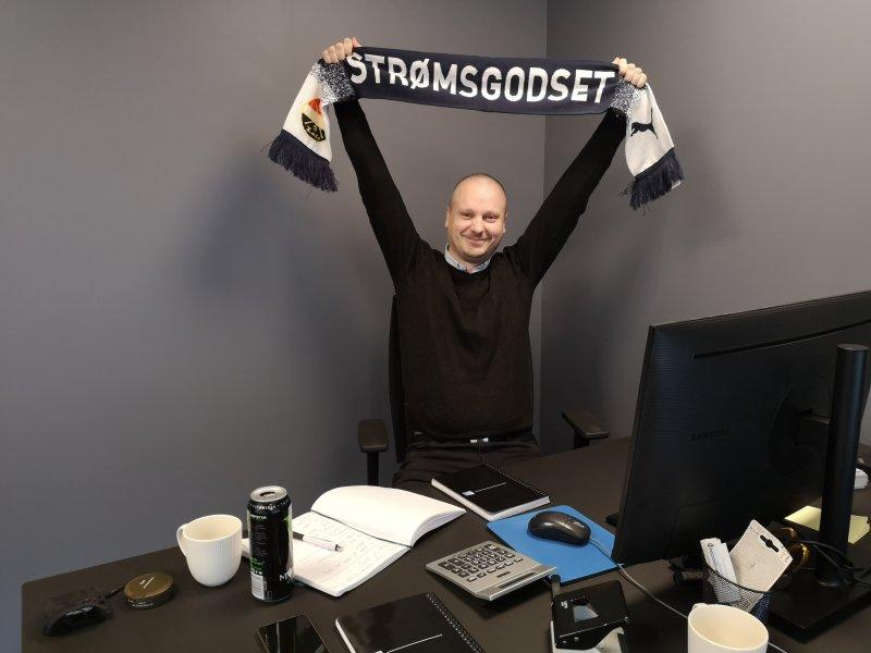 Andreas gleder seg til å bli kjent med resten av sponsorpoolen!