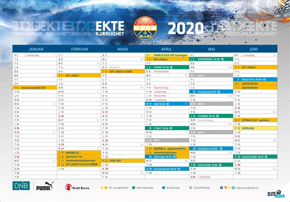 Kalender 2020 del 1