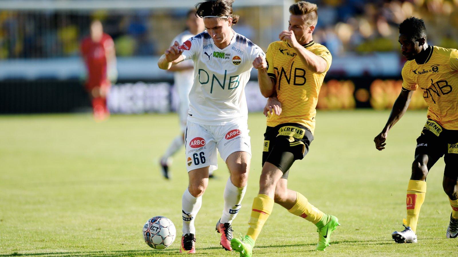 Andreas Hoven mot Lillestrøm.